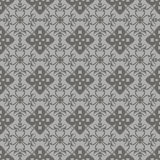 Grey Ornamental Seamless Line Pattern Fotos de archivo