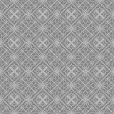 Grey Ornamental Seamless Line Pattern Fotografia de Stock