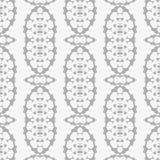 Grey Ornamental Seamless Pattern Textura infinita Ornamento geométrico oriental ilustração do vetor