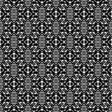 Grey Ornamental Seamless Pattern Textura infinita Ornamento geométrico oriental ilustração royalty free