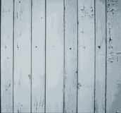 Grey Painted Wooden Planks Stock Image