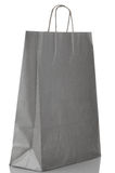 Grey  paper bag Royalty Free Stock Photo