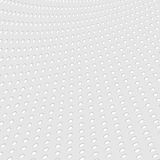 Grey paper dotted abstract vector background Stock Photography