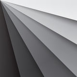 Grey paper layers with realistic shadows abstract. Background. RGB EPS 10 vector illustration Royalty Free Illustration