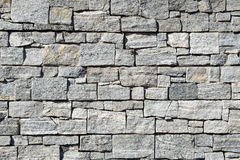 Grey pattern of decorative brown grey slate stone wall Royalty Free Stock Image