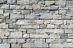 Grey pattern of decorative brown grey slate stone wall Royalty Free Stock Photography