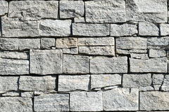 Grey pattern of decorative brown grey slate stone wall Stock Photography