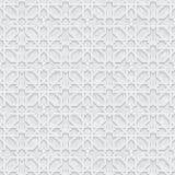 Grey Pattern géométrique avec le fond clair Images libres de droits
