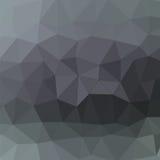 Grey Pattern polygonal abstrait Photo libre de droits