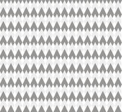 Grey pattern with rhombuses Stock Image