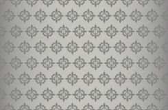 Grey pattern wallpaper Stock Image