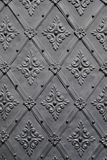 Grey Patterned Wall Royalty Free Stock Images