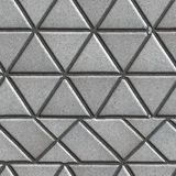 Grey Pave Slabs in the Form of Triangles and Other Royalty Free Stock Photos