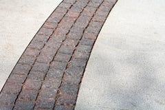 Grey pavement Royalty Free Stock Photos