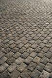 Grey pavement. Granite grey pavement close-up Royalty Free Stock Photo