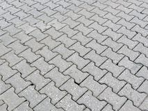 Grey pavement Royalty Free Stock Images