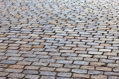 Grey paving stones Stock Photography