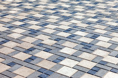 Grey paving stones Royalty Free Stock Photography