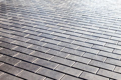 Grey paving stones Royalty Free Stock Image