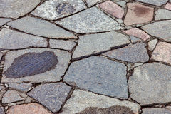 Grey paving stones as background Stock Images