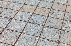 Grey paving stones as background Royalty Free Stock Image