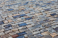 Grey paving stones of the Red square in Moscow Royalty Free Stock Photo