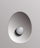 Grey pearl Stock Photo