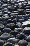 Grey pebble stone pool Royalty Free Stock Image