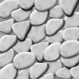 Grey pebbles Stock Photo