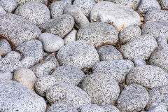 Grey Pebbles Royalty Free Stock Photography