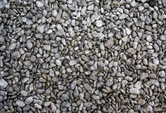Grey Pebbles Stock Photography