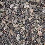 Grey Pebbles comme fond Photo libre de droits