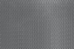 Grey Perforated Metal Background Royalty Free Stock Image