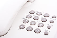 Grey phone keypad Royalty Free Stock Photography