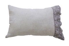 Grey pillow Royalty Free Stock Photo