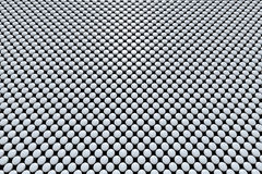 Grey pills array Royalty Free Stock Photography