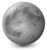 A grey planet Royalty Free Stock Photography