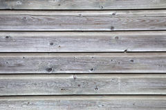 Grey planks of old fence Royalty Free Stock Image