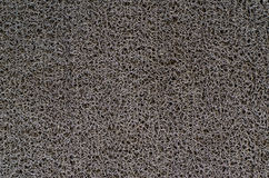 Grey plastic carpet Stock Image