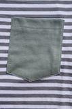 Grey pocket Royalty Free Stock Image