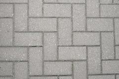 Grey precast concrete blocks Royalty Free Stock Photos