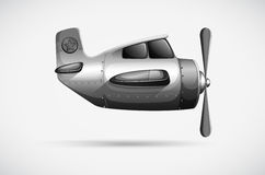 A grey propeller Stock Photo