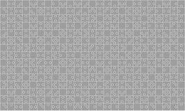 375 Grey Puzzles Pieces Jigsaw - vecteur Images stock