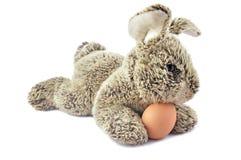Grey rabbit egg Stock Photos