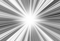 Grey rays Stock Image