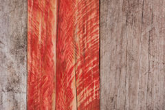 grey and red grungy wood background Royalty Free Stock Photo
