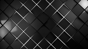 Grey and red squares modern background. Illustration Royalty Free Stock Photo