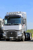 Grey Renault Range T Truck for Long Haul Stock Image