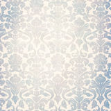 Grey retro shabby wallpaper Stock Image