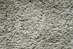 Grey revetment wall putty macro texture Royalty Free Stock Image